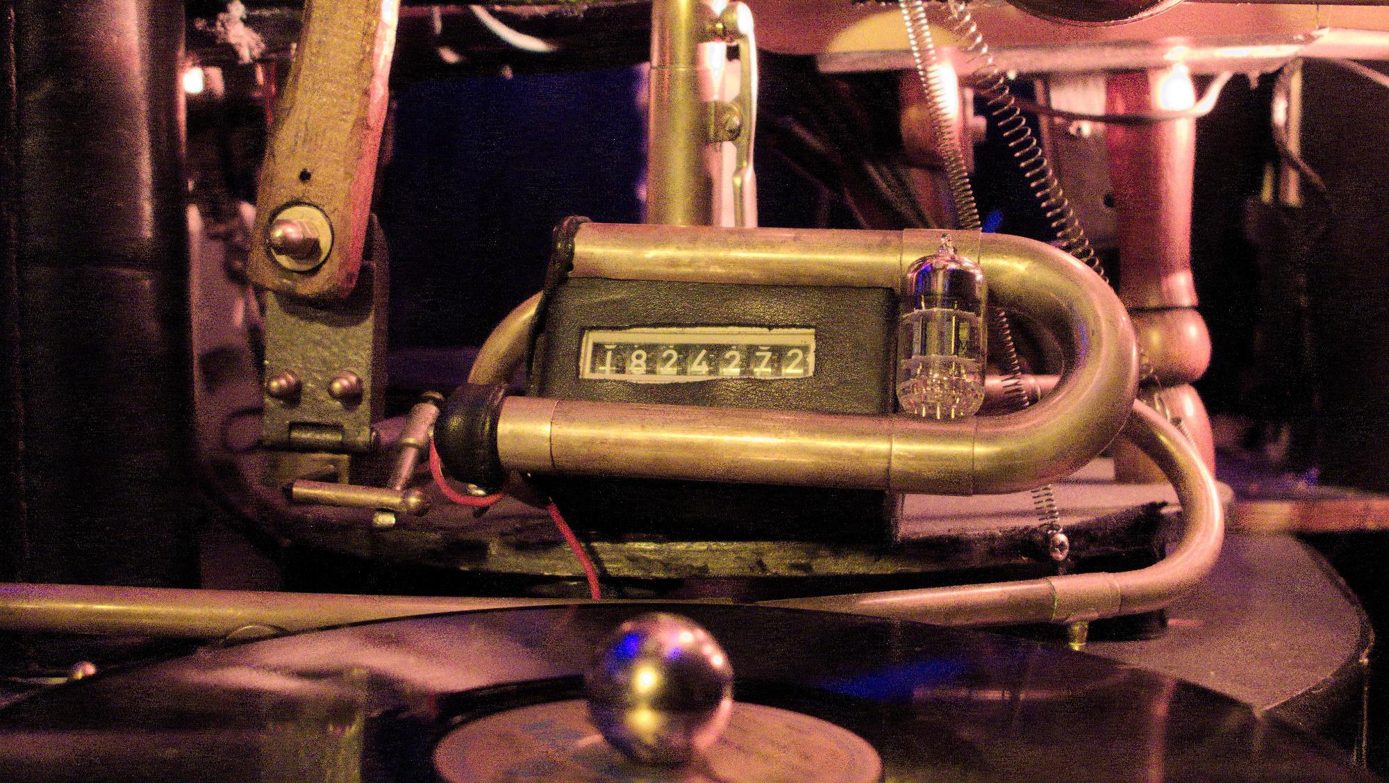 Detailbilder von der Musikmaschine