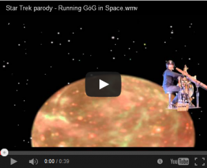 YT Running GöG in Space