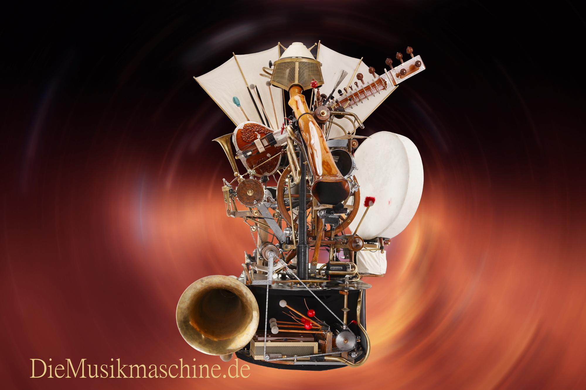 Aktuelle Aufnahme der Musikmaschine. Dez. 2014 Foto: Werbefoto Robold