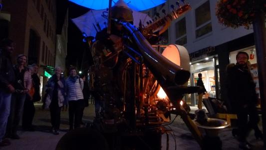 Parade bei der Reutlinger Kulturnacht - Sept. 2015